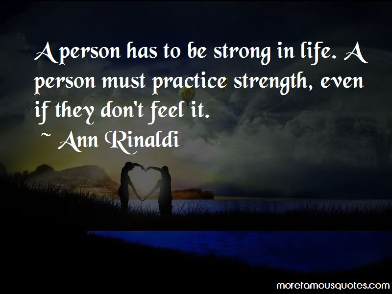 Quotes About Be Strong In Life