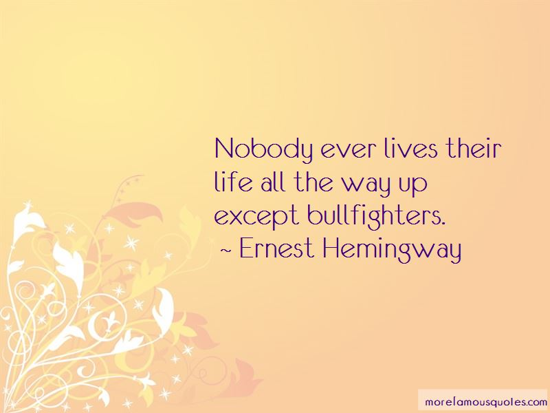 Bullfighters Quotes Pictures 3