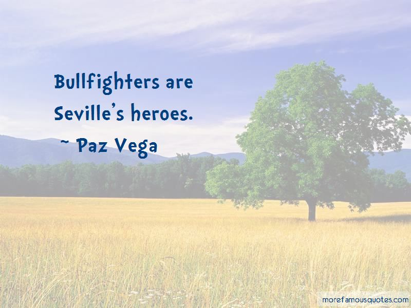 Quotes About Bullfighters
