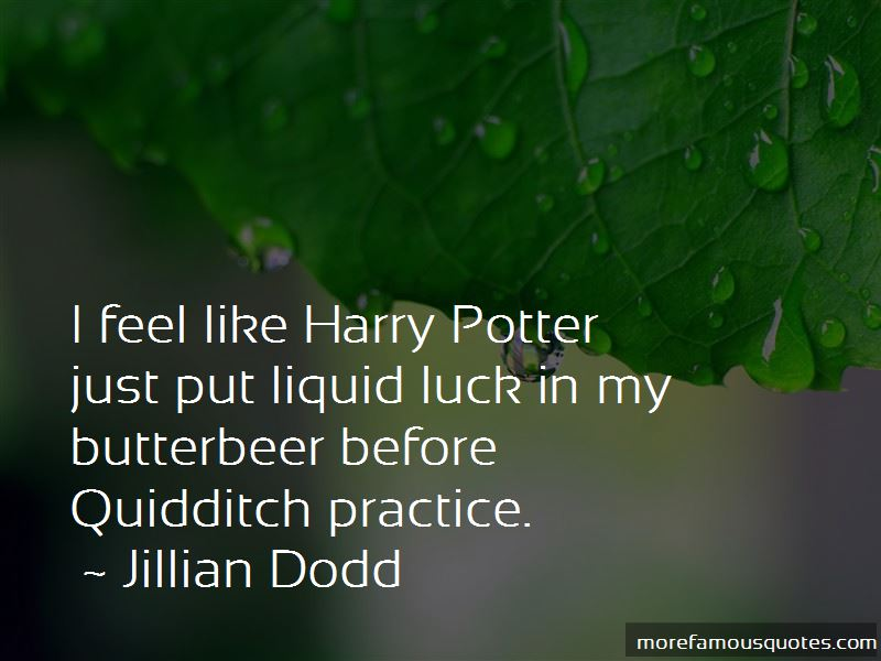 Quotes About Butterbeer