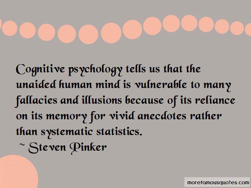 Quotes About Cognitive Psychology