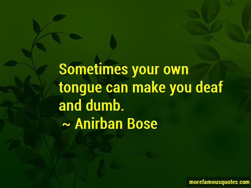 Deaf And Dumb Quotes Pictures 2