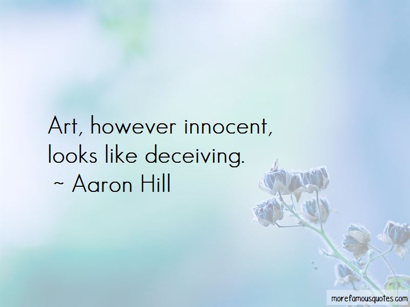 Deceiving Looks Quotes Pictures 3