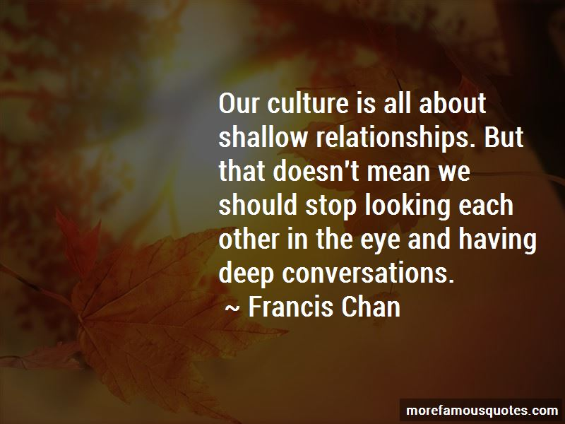 Quotes About Deep Conversations