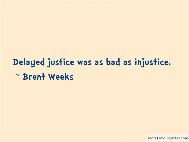Quotes About Delayed Justice