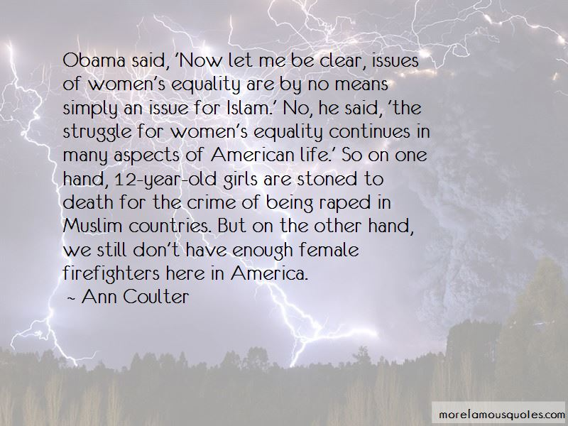 Quotes About Equality Obama