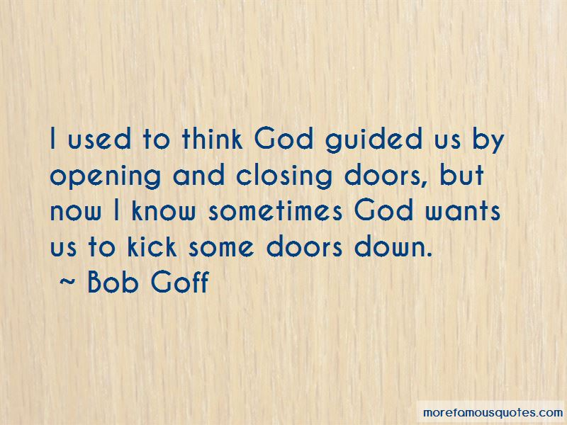Quotes About God Closing Doors