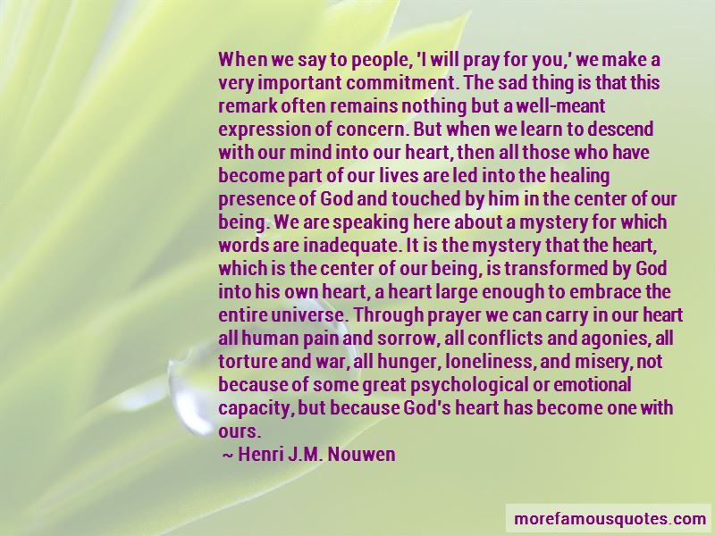 Quotes About God Speaking Through Us