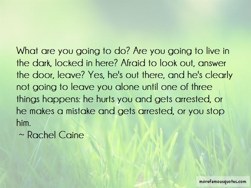 Quotes About Going On Leave