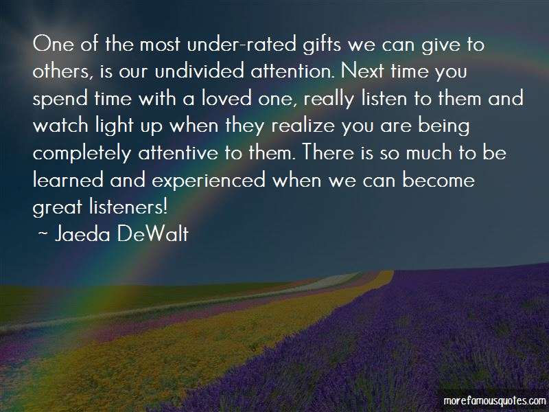 Quotes About Great Listeners