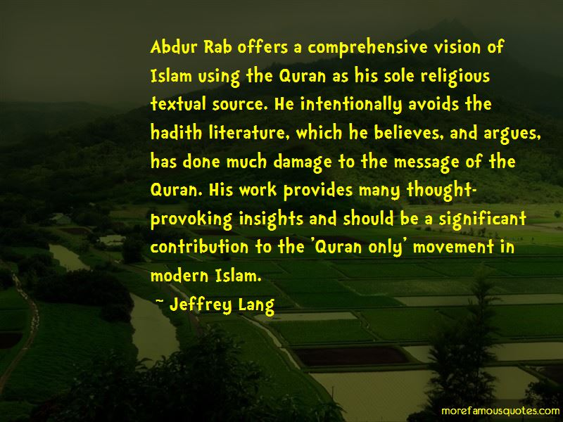 Quotes About Hadith