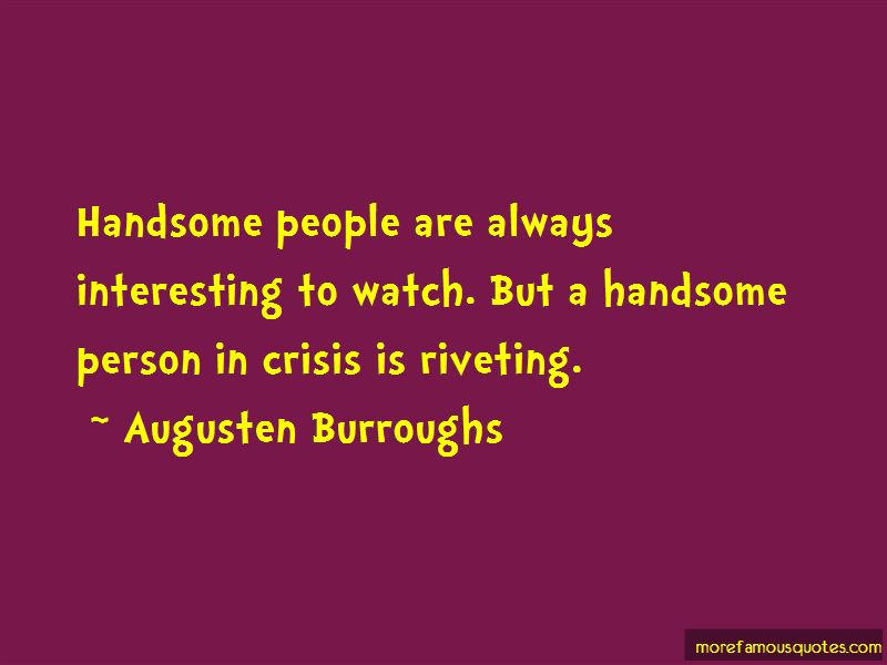 Quotes About Handsome Person