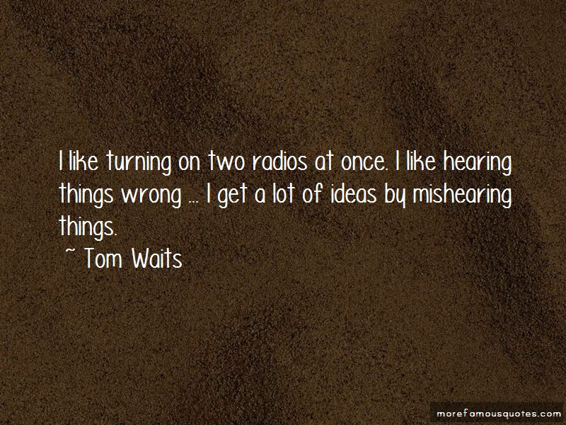 Quotes About Hearing Things
