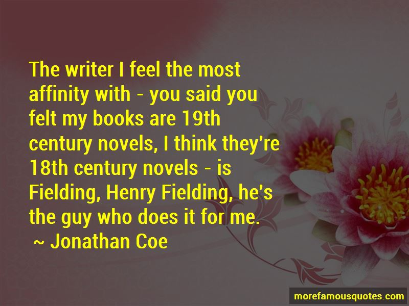 Quotes About Henry Fielding