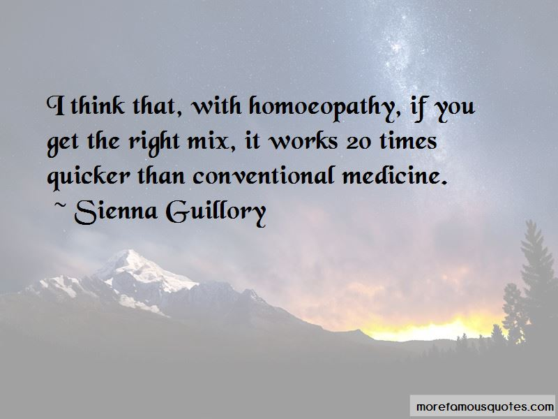 Quotes About Homoeopathy