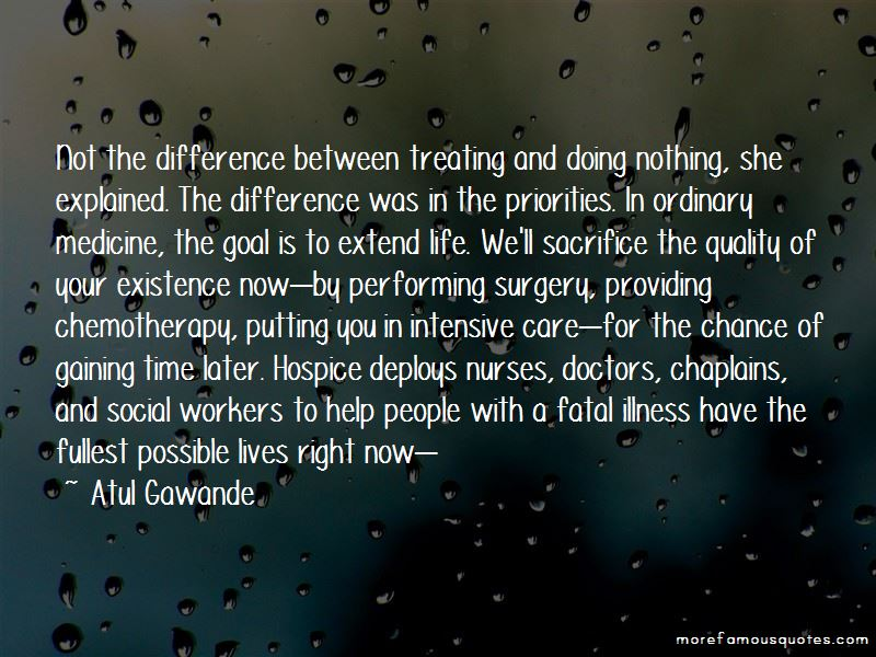 Quotes About Hospice Workers