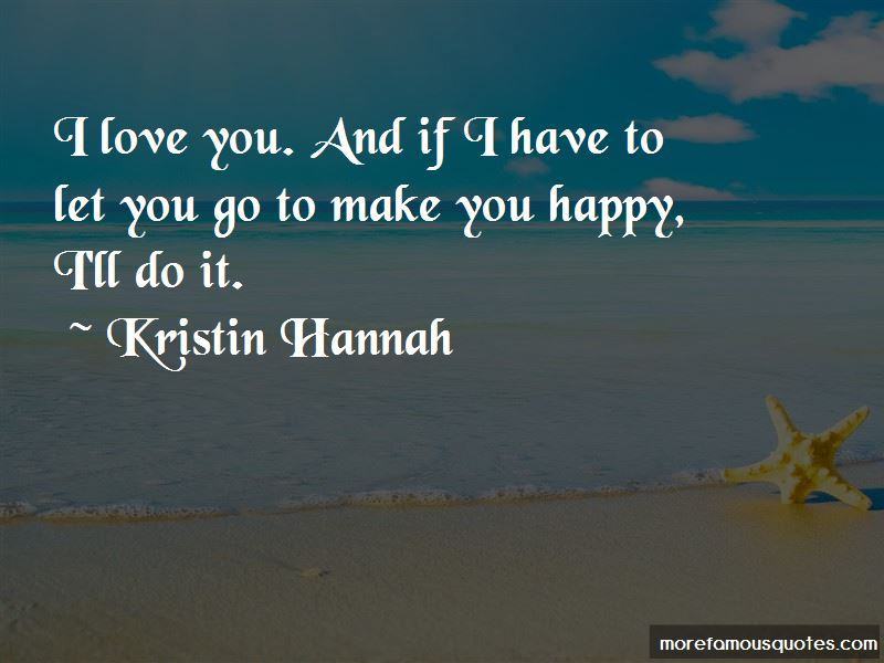 Quotes About I Have To Let You Go