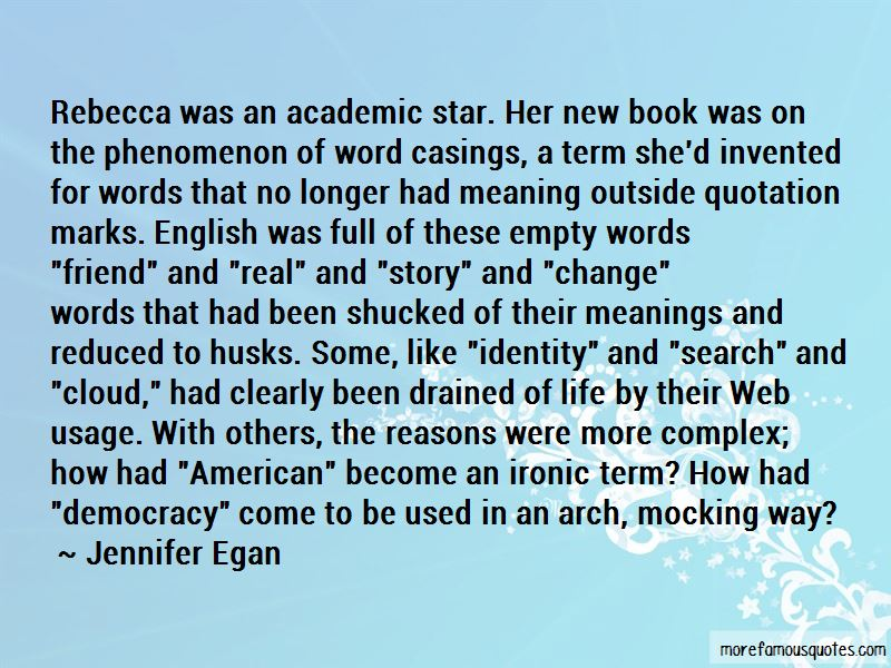 Quotes About Identity In Rebecca