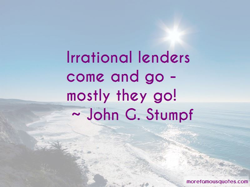 Quotes About Lenders