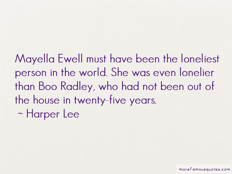 Quotes About Mayella