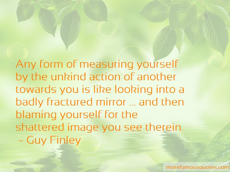 Quotes About Measuring Yourself