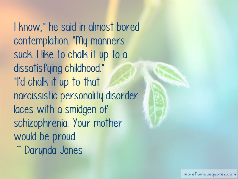 Quotes About Personality Disorder