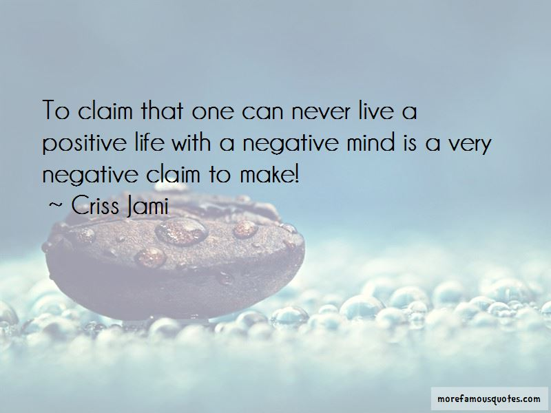 Quotes About Positive Life