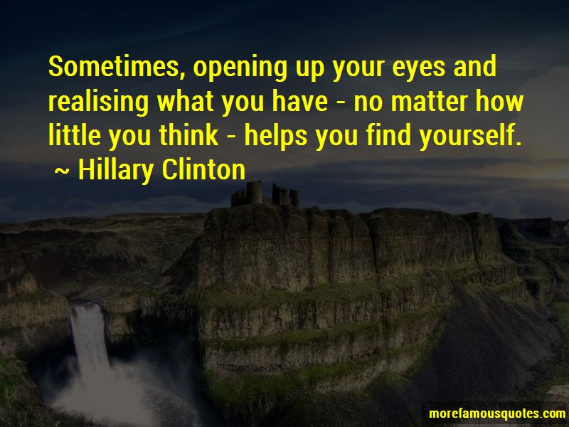 Quotes About Realising What You Have