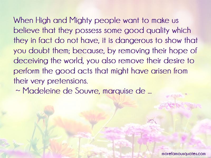 Quotes About Removing Doubt