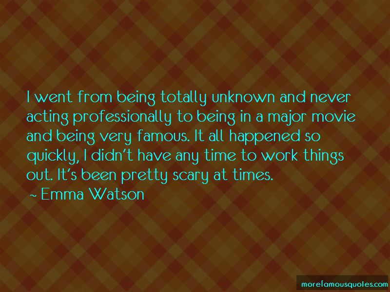 Scary Times Quotes Pictures 4
