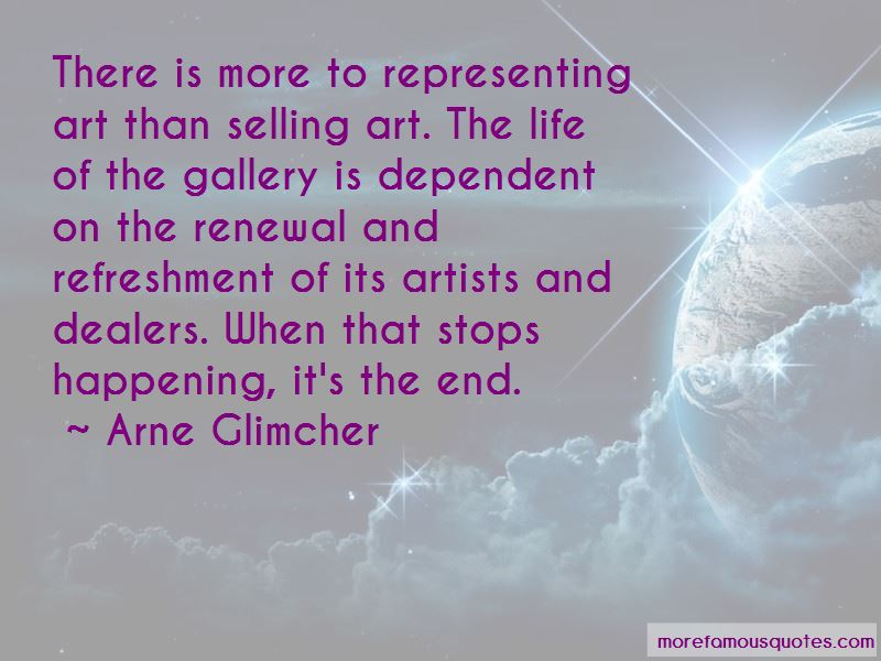 Quotes About Selling Art
