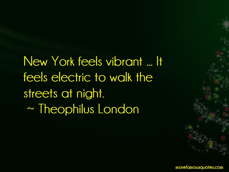 Quotes About Streets At Night Top 57 Streets At Night Quotes From