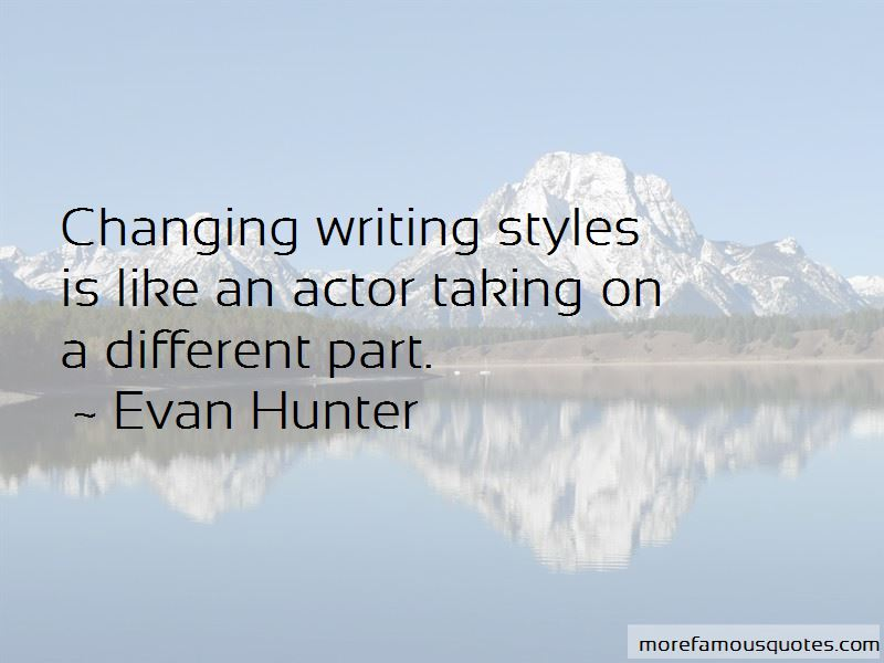 Quotes About Styles Of Writing