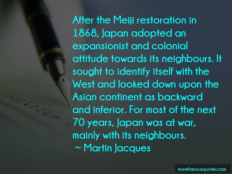 Quotes About The Meiji Restoration