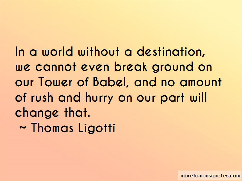 Quotes About Tower Of Babel