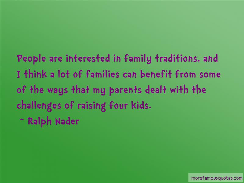 Quotes About Traditions And Family