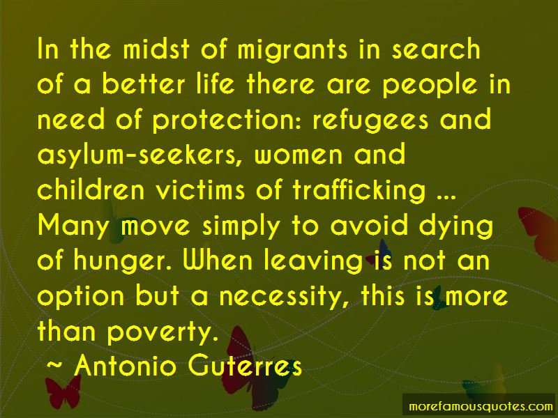 Quotes About Trafficking