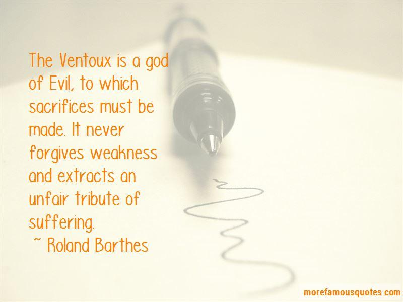 Quotes About Ventoux