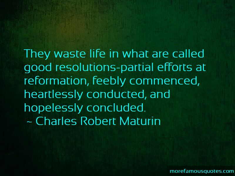 Quotes About Waste Life