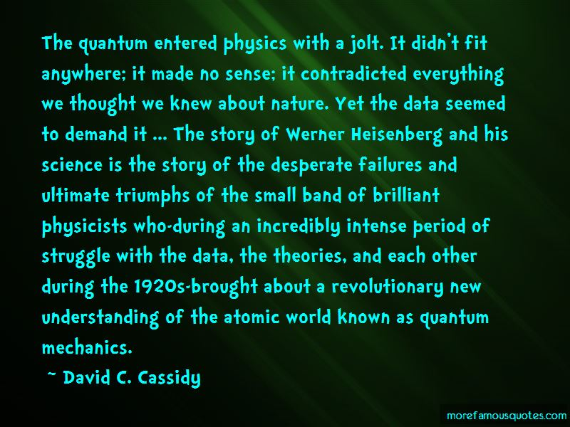Quotes About Werner Heisenberg