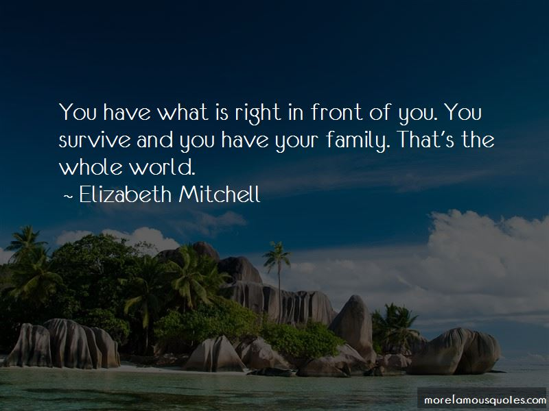 What Is Right In Front Of You Quotes Pictures 3