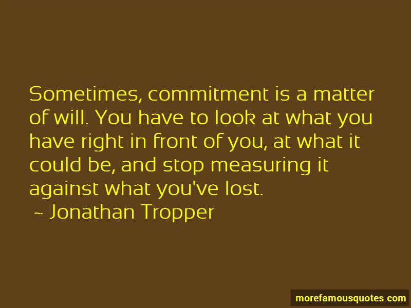 What Is Right In Front Of You Quotes Pictures 4