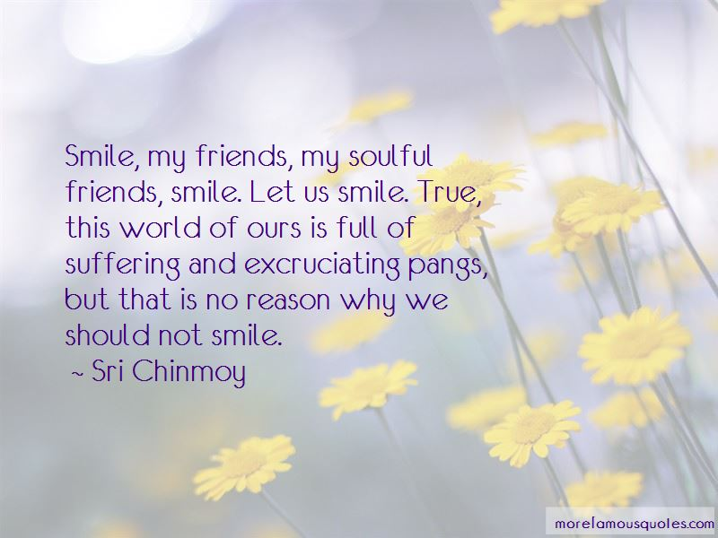 Quotes About Why We Should Smile
