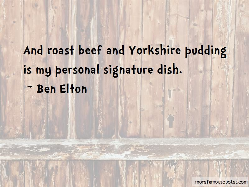 Quotes About Yorkshire Pudding