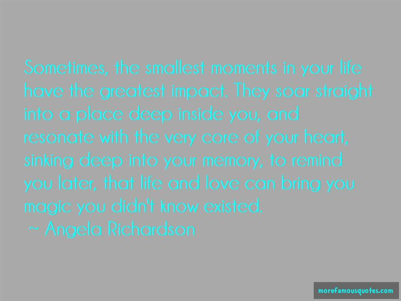 Quotes About Your Heart Sinking