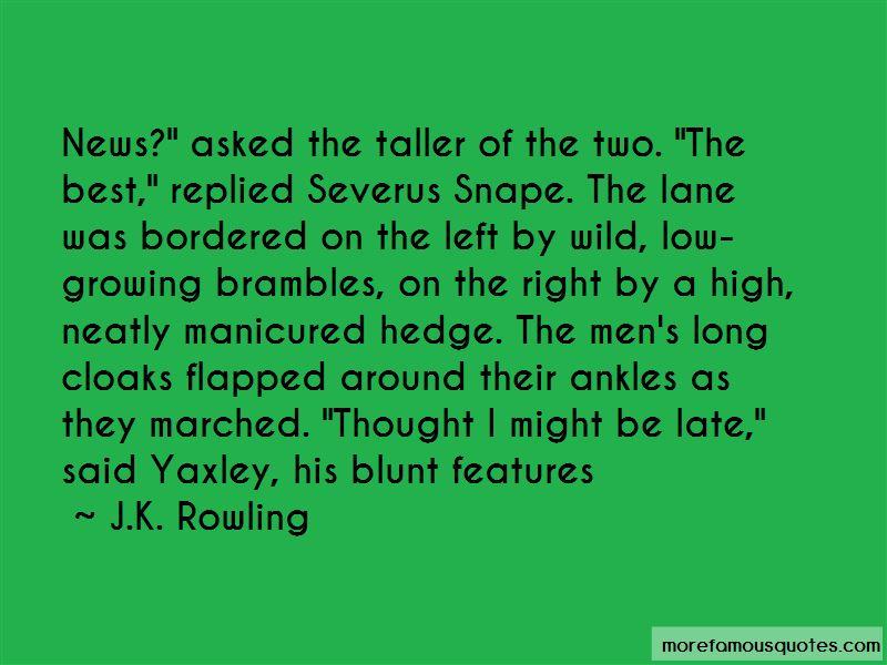 Snape Severus Quotes