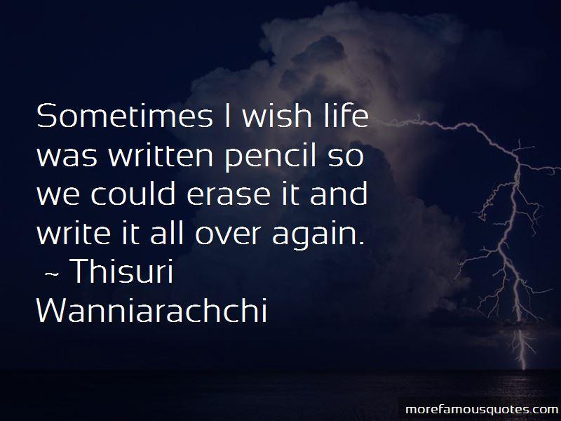 Sometimes I Wish Life Quotes