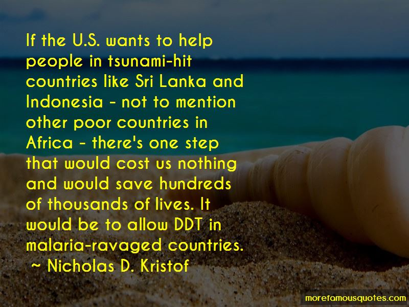 Sri Lanka Tsunami Quotes