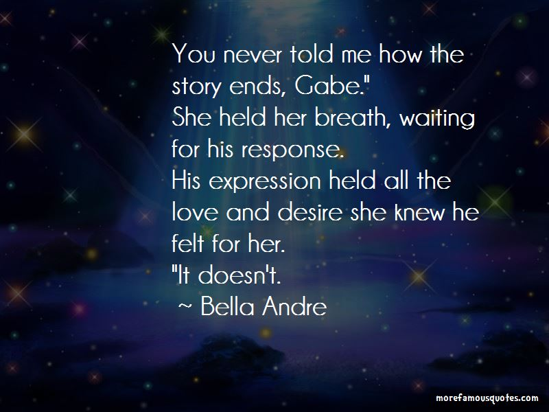 Story Of Our Love Quotes