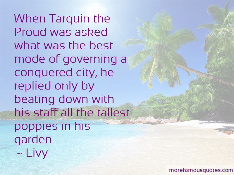 Tarquin The Proud Quotes